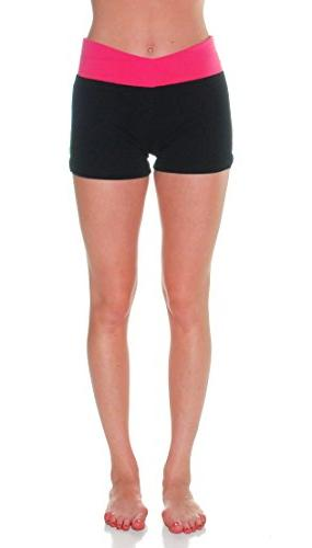 Emmalise Yoga Bottom Cotton Blend Pants and Shorts