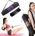yoga mat bag tote strap carrier pocket cotton new shoulder
