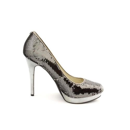 Michael Kors York Sequins Pump Gunmetal Women's 9 M US