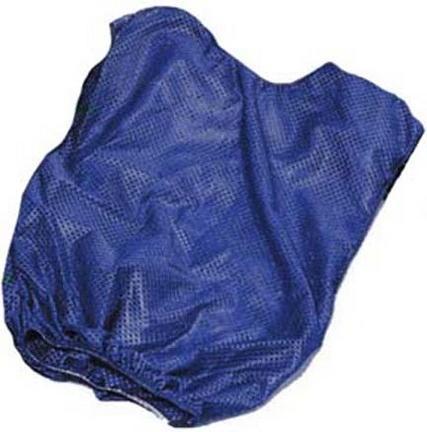 Youth Blue Mesh Game Vests - Set Of 6