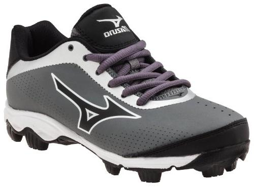 Youth Franchise 7 Baseball Cleat ,Grey/Black,3 M US Little