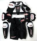 Youth Ice Hockey Protective Gear Kit Set Kids Mite Equipment