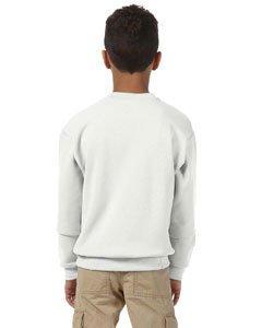 Jerzees 50/50 Youth Crewneck Sweatshirt, S, Burnt Orange