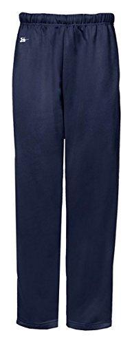 Badger Youth Open Bottom Side Pocket Performance Pant - Navy
