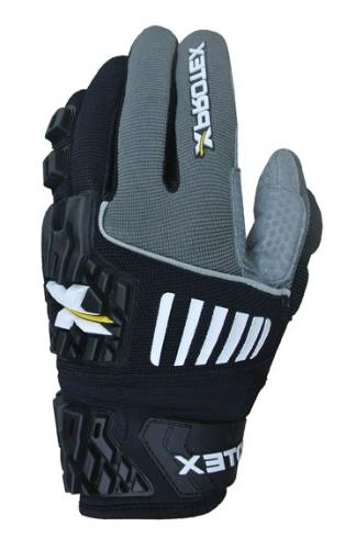 Xprotex Adult RAYKR 2014 Protective Batting Gloves, Red, XX-