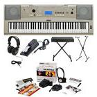 Yamaha YPG-235 Keyboard w/ Stand, Bench, Headphones, Pedal