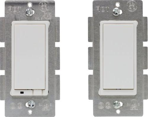 GE Z-Wave Wireless Lighting Control Three-Way On/Off Kit