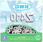 "KMC Z410 Chain Silver & Black 1/8"" Bike Chain BMX Single-"