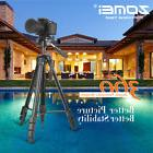 ZOMEI Z666 Professional Tripod Aluminium Portable Travel for