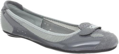 Puma Women's Zandy Shoe,Steel Grey/Limestone Grey/Silver,10