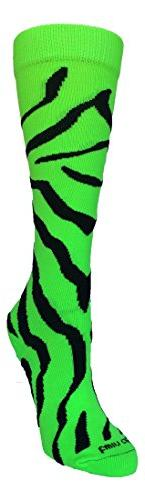 TCK Zebra Stripe Socks