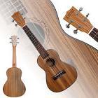 """New 23"""" Zebra Wood Ukulele 4 String Ukulele Musical"""